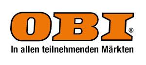 Abbildung des OBI Logos mit Link auf die Marktsuche auf www.obi.de