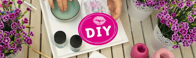 Pink Kisses DIY-Ideen